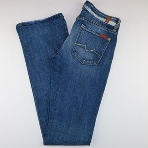 7 For All Mankind Jeans Sz 28 Kimmie Bootcut Long